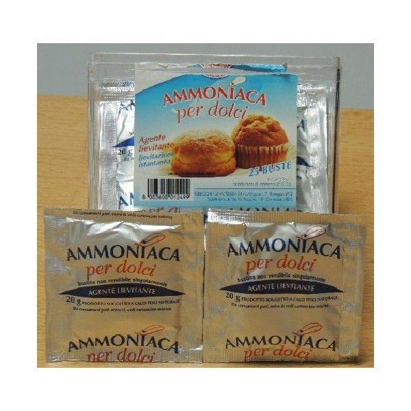 Ammoniaca x Dolci n. 25 Bustine gr 20 cad.