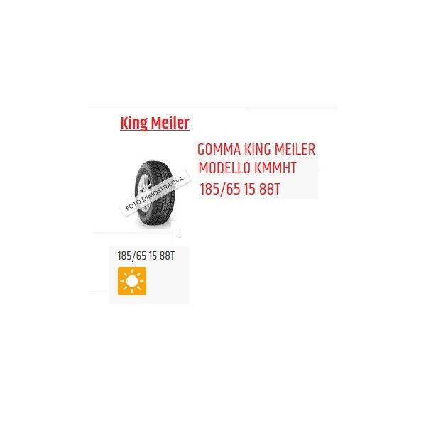 King Meiler 185/65 15 Estiva