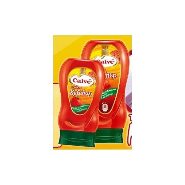 Ketchup Calvè ML 250 Top Down