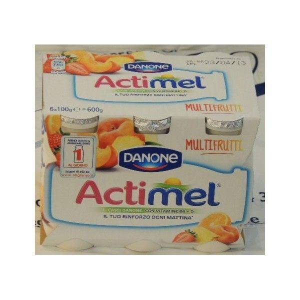Actimel Danone 6x100 Multifrutti