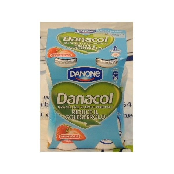 Danacol Danone 4x100 Fragola