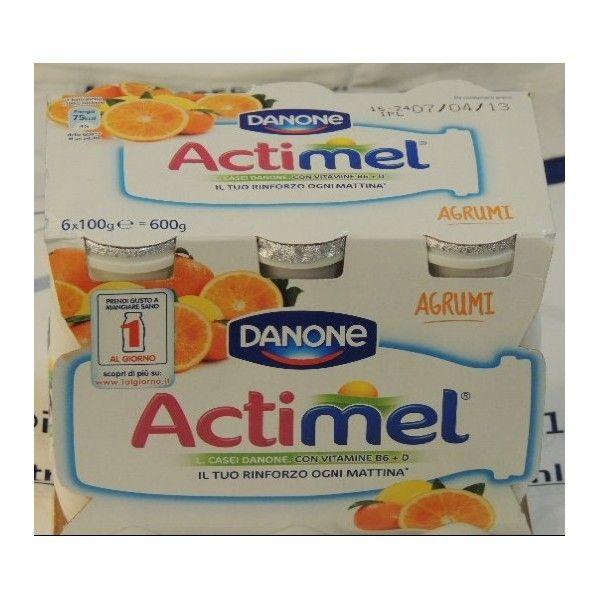 Actimel Danone 6x100 Agrumi