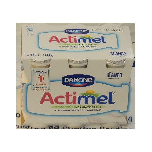 Actimel Danone 6x100 Bianco