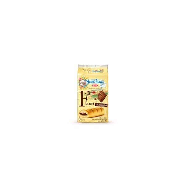Flauti Mulino Bianco X 8 Cioccolato gr. 280 Brioss