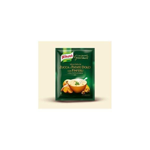 Knorr Vellutata Zucca/Patat/Finferli