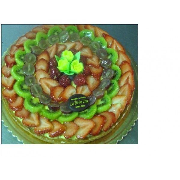 Torta Crostata di Frutta x 6 persone La Dolce Vita