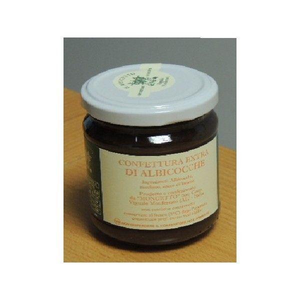 Confetture Albicocca Mongetto gr 220