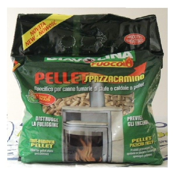 Diavolina Pellet Spazzacamino kg 1,5
