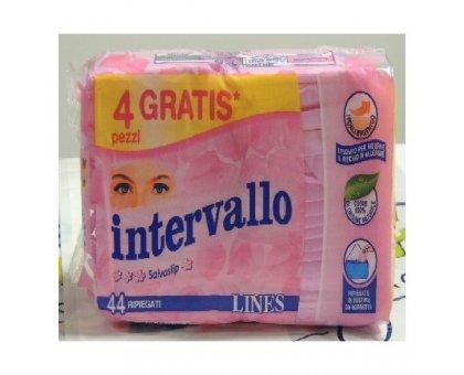Lines Intervallo Salva Slip x 44