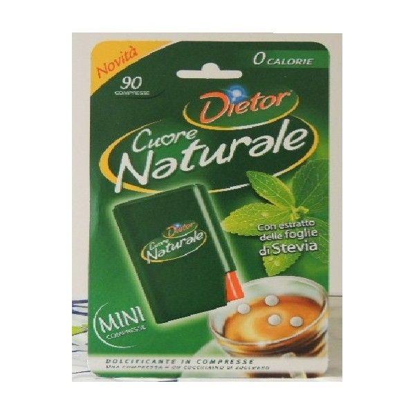 Stevia Cuore Naturale 90 Compr. Dietor Dolcificante