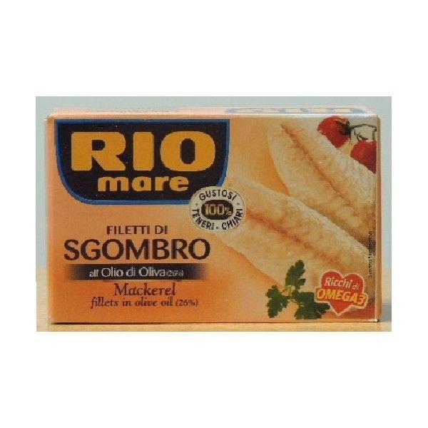 Sgombro Filetti Rio Mare Olio Oliva gr 125