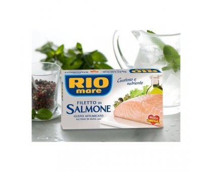 Filetto Salmone Rio Mare Affumicato gr. 150