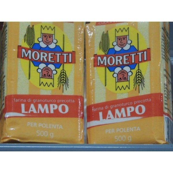 Moretti Polenta Lampo S/V  Gr. 500