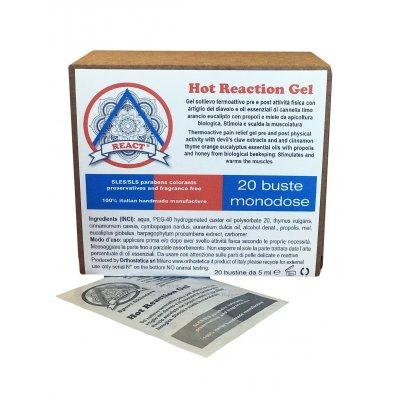 Hot Reaction Gel Monodose - Conf. 20pz