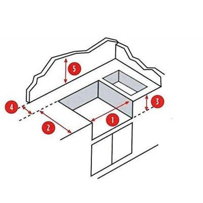 Euro 4 Safety Controls da incasso con cappa forno