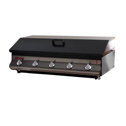 Barbecue a Gas Euro 5 da appoggio con kit 4 piedini