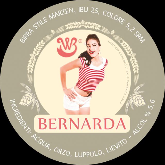 Birra Artigianale Agricola Bernarda Conf.da 6 Bott.