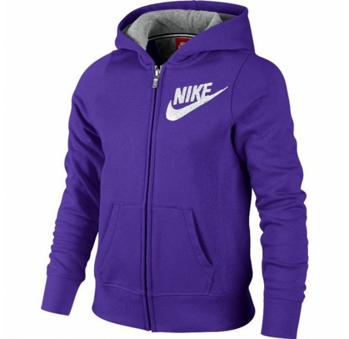 FELPA NIKE GIRLS ZIP 622115 547
