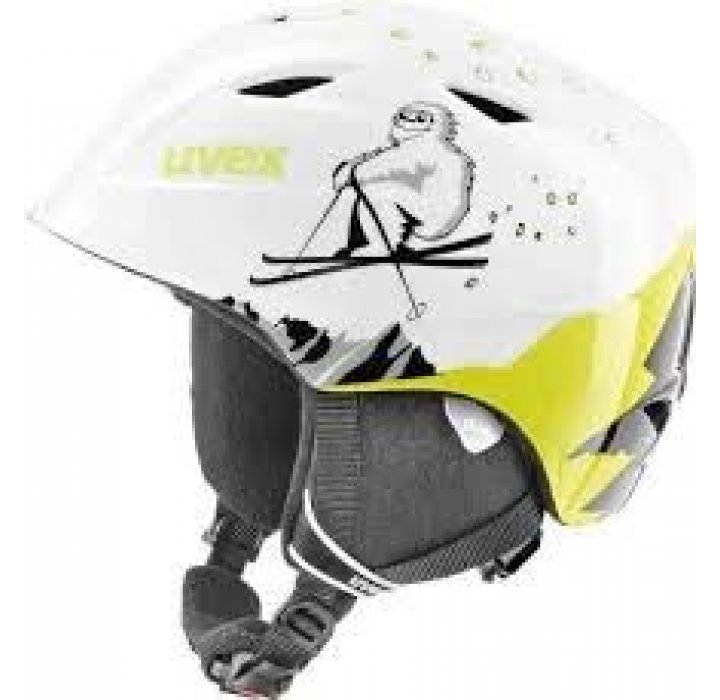 UVEX CASCO JR AIRWING GIALLO