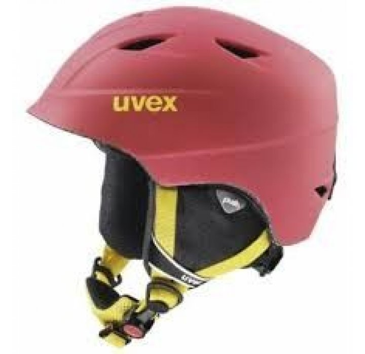 UVEX CASCO JR AIRWING 2 PRO ROSSO