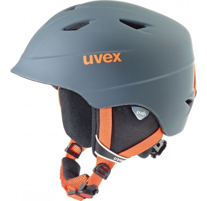 UVEX CASCO SET AIRWING TITANIUM ORANGE