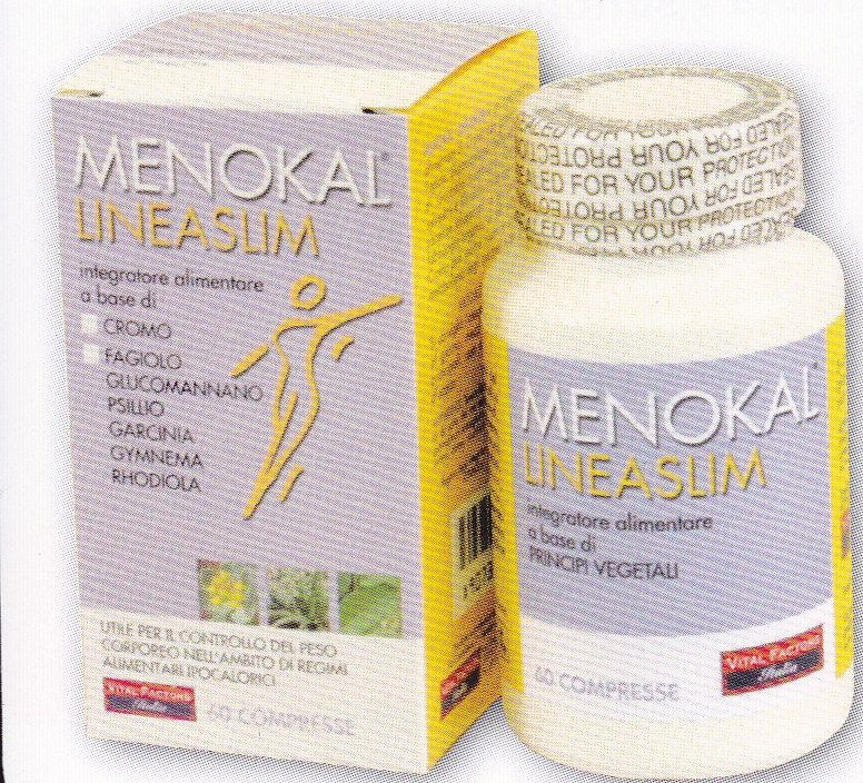 MENOKAL  LINEASLIM  60 cpr- Antifame - VITAL FACTORS