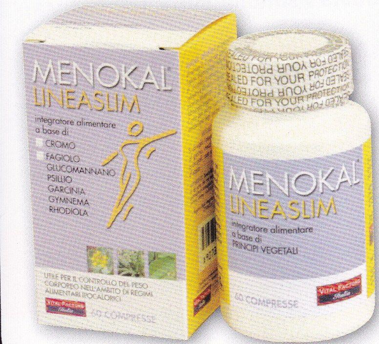 MENOKAL  LINEASLIM  60 cpr- Antifame - VITAL FACTORS
