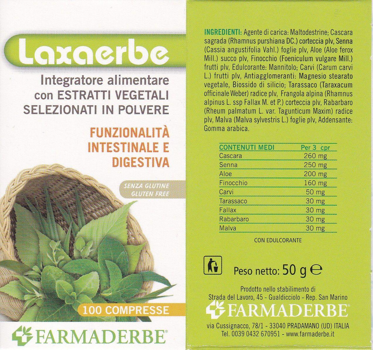 FARMADERBE LAXAERBE 100 cpss