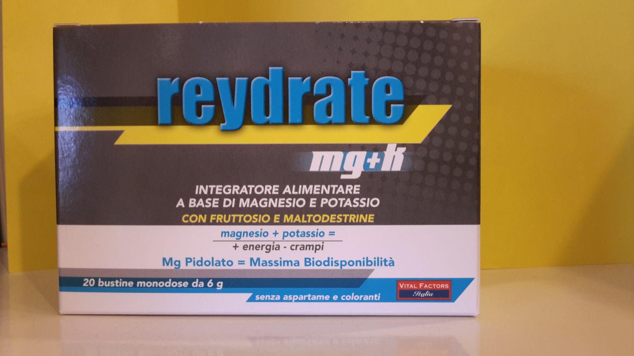 REYDRATE  Magnesio + Potassio  20  Buste - Vital Factors