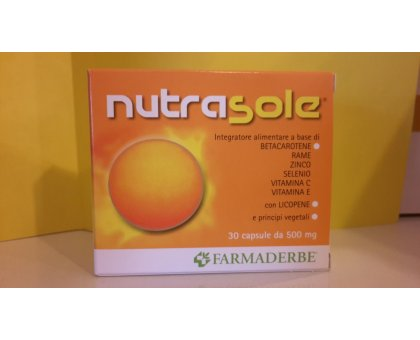 Nutra SOLE betacarotene 30 cps - FARMADERBE