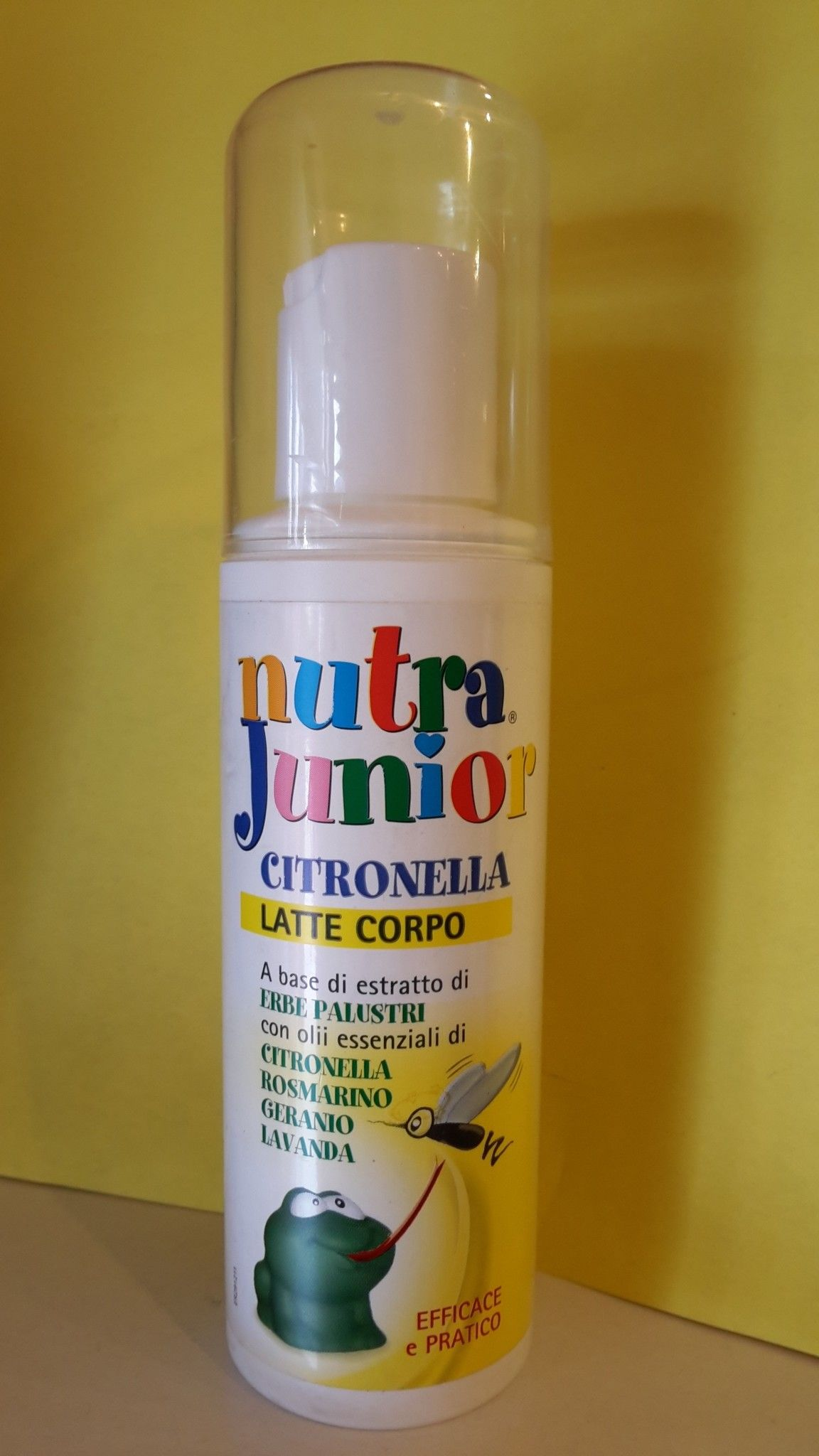 Nutra Junior ANTIZANZARE  Bimbi - Citronella 100 ml - Farmaderbe