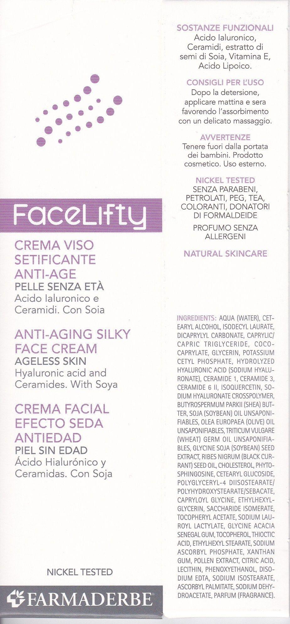 FARMADERBE  FaceLifthy  Crema