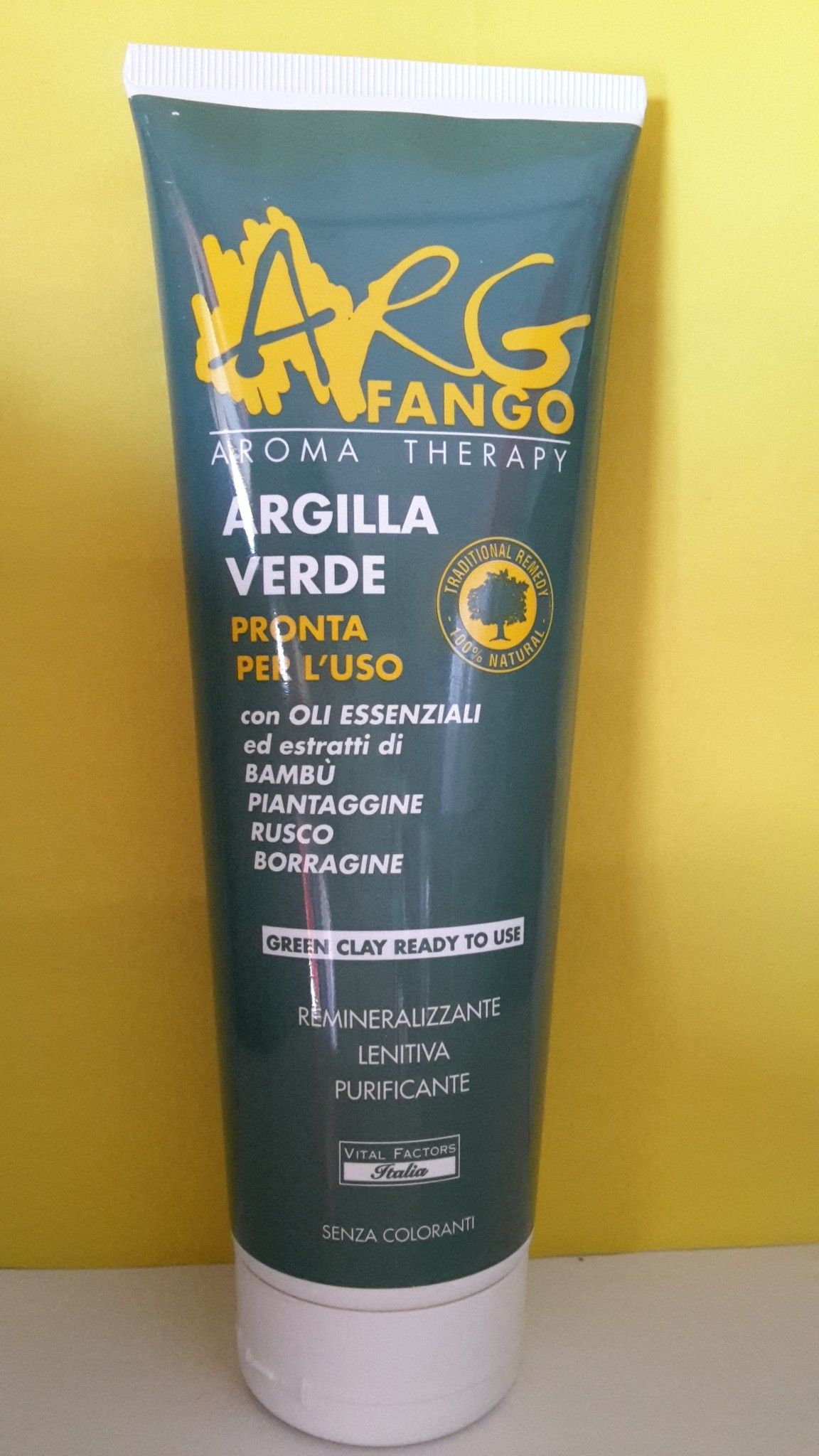 Argilla Verde  Fango Pronto 250 ml - Vital Factors