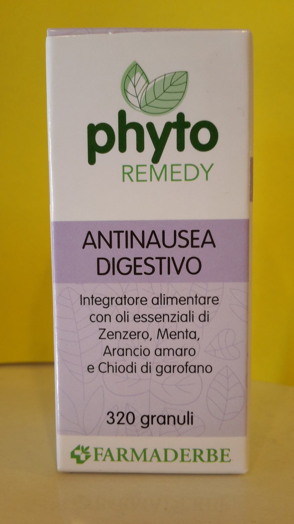 Phyto Remedy ANTINAUSEA  digestivo  320 granuli - FARMADERBE
