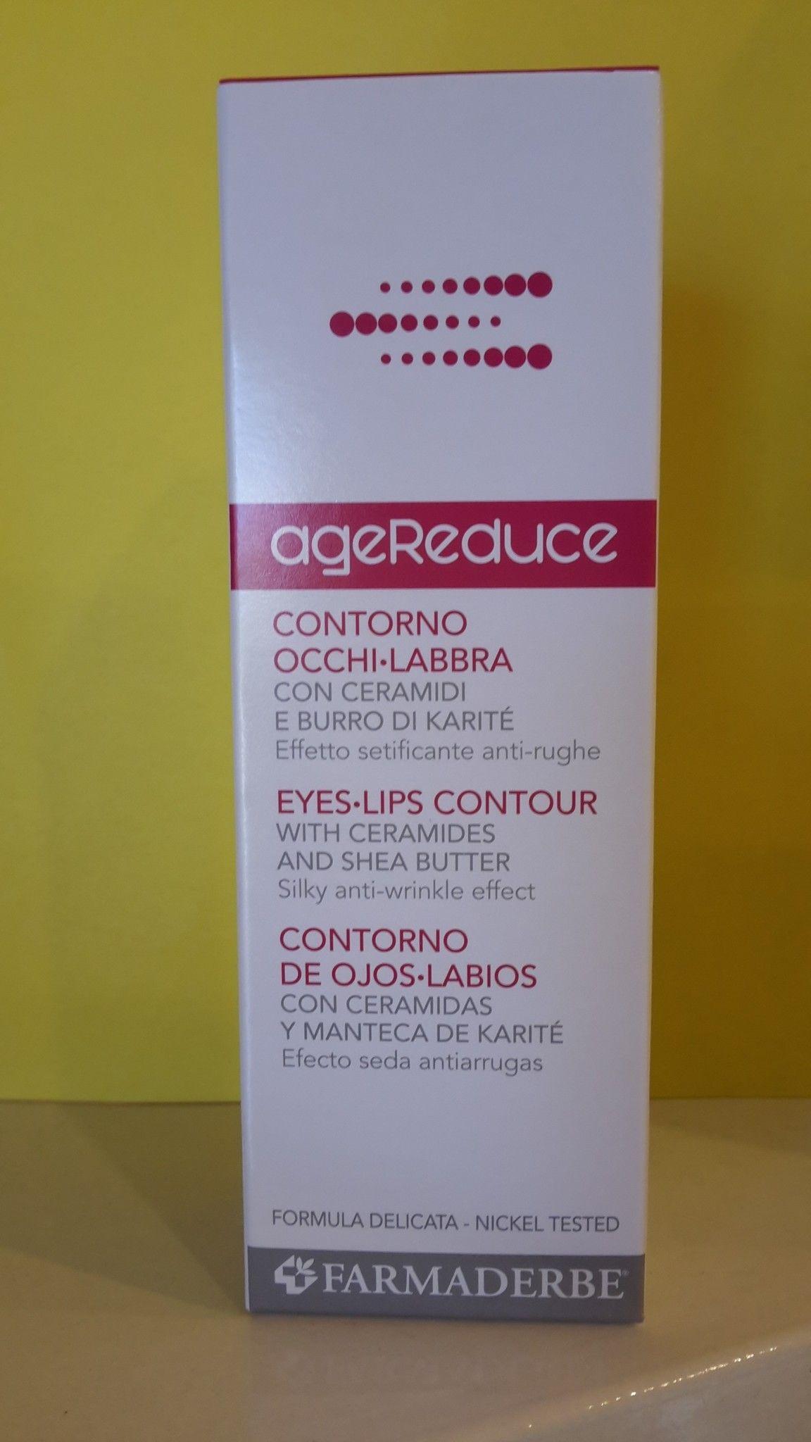 AgeReduce Contorno Occhi- Labbra 30 ml- FARMADERBE