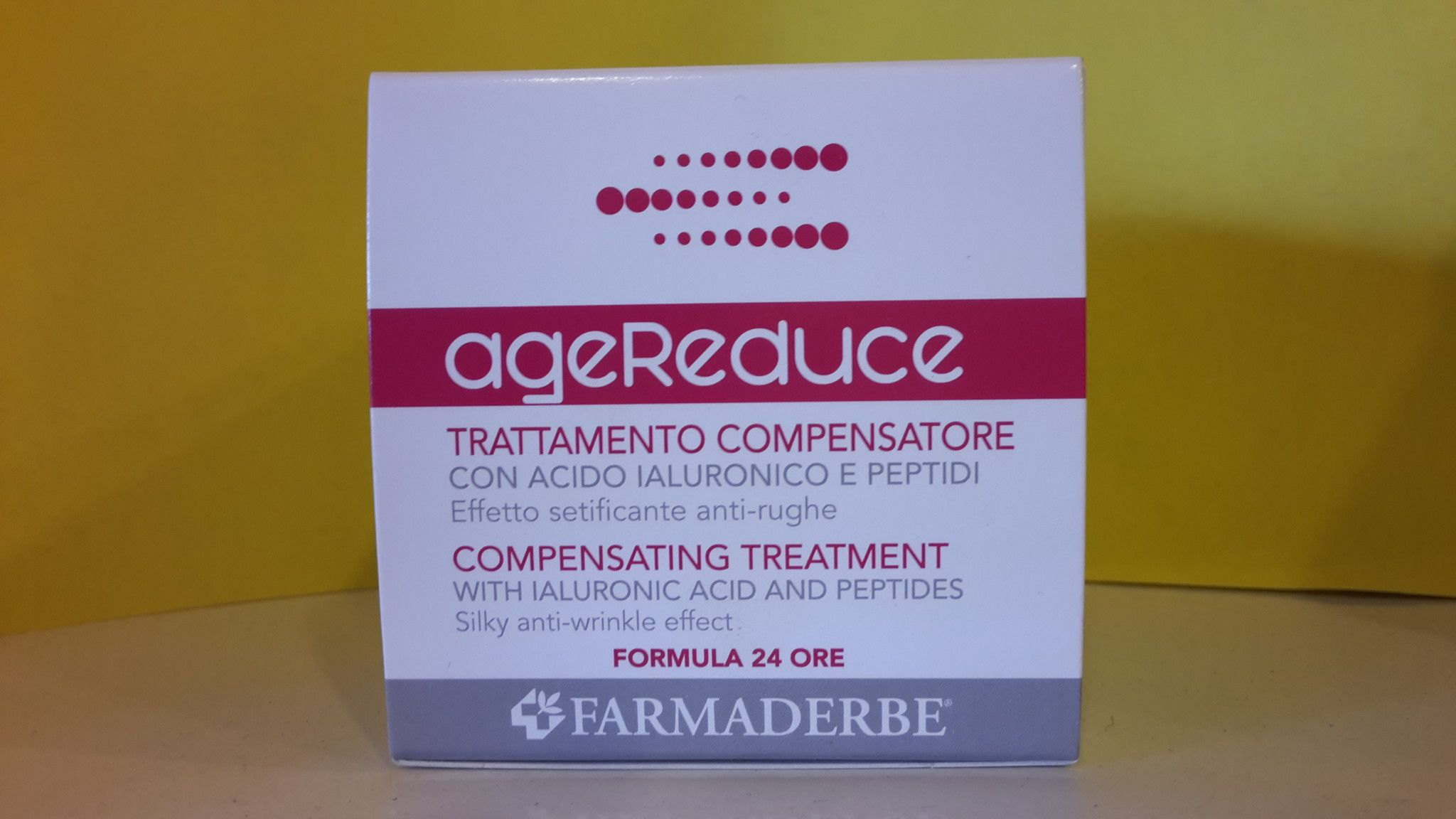 AgeReduce Crema ANTIRUGHE -  24  Ore - 50 ml- FARMADERBE