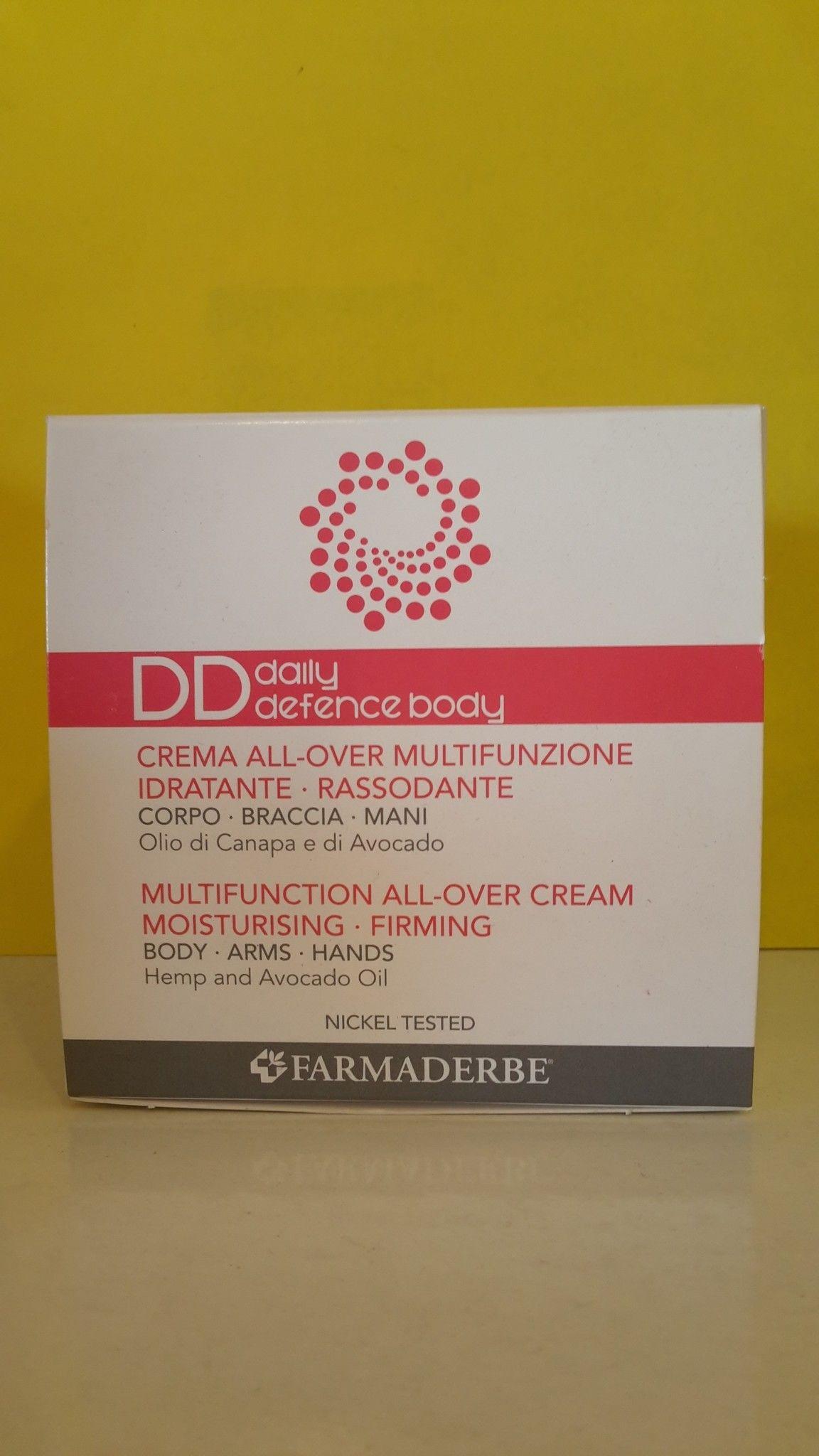 DD  Crema corpo  Daily Defence Body  200 ml