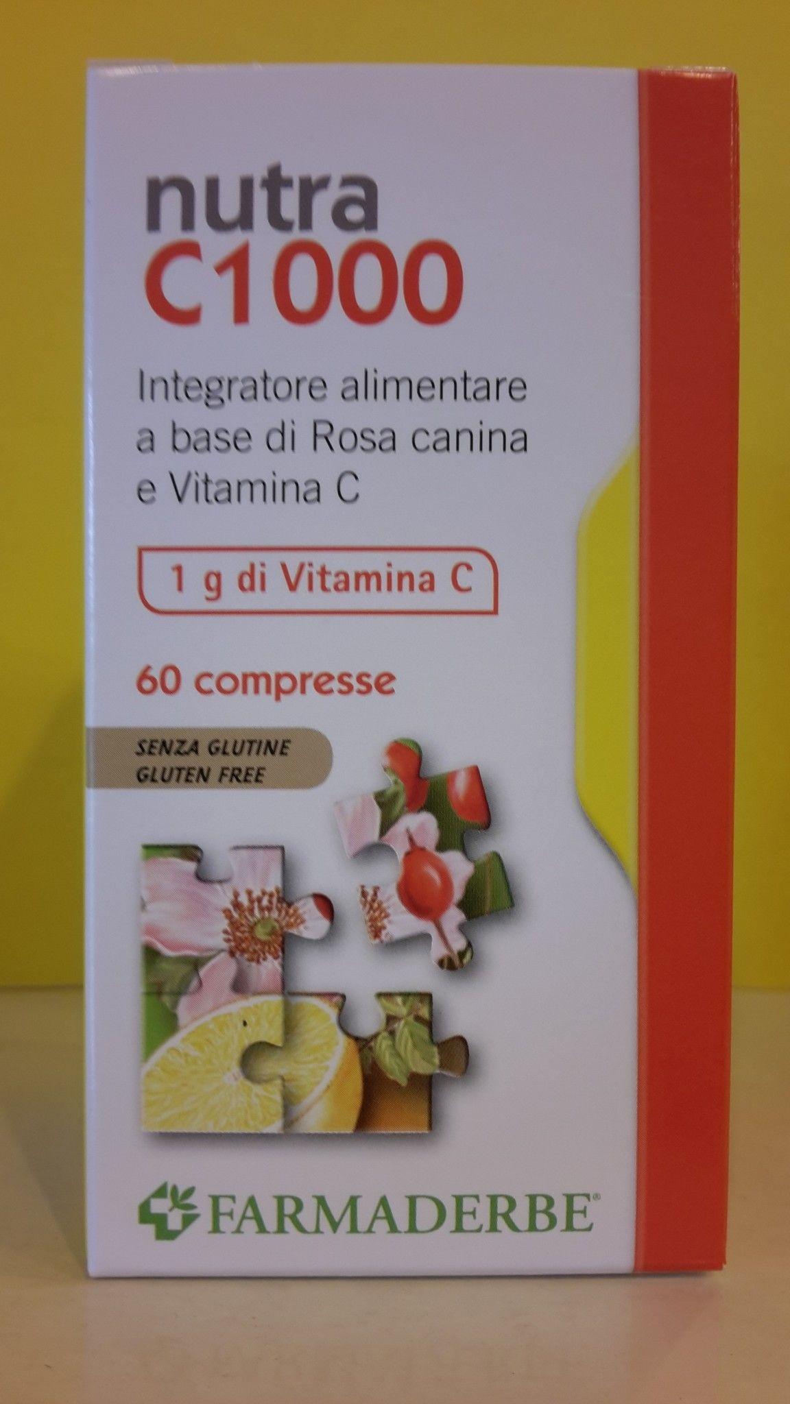 Nutra C 1000 - Vitamina C - 60 cpr -  FARMADERBE