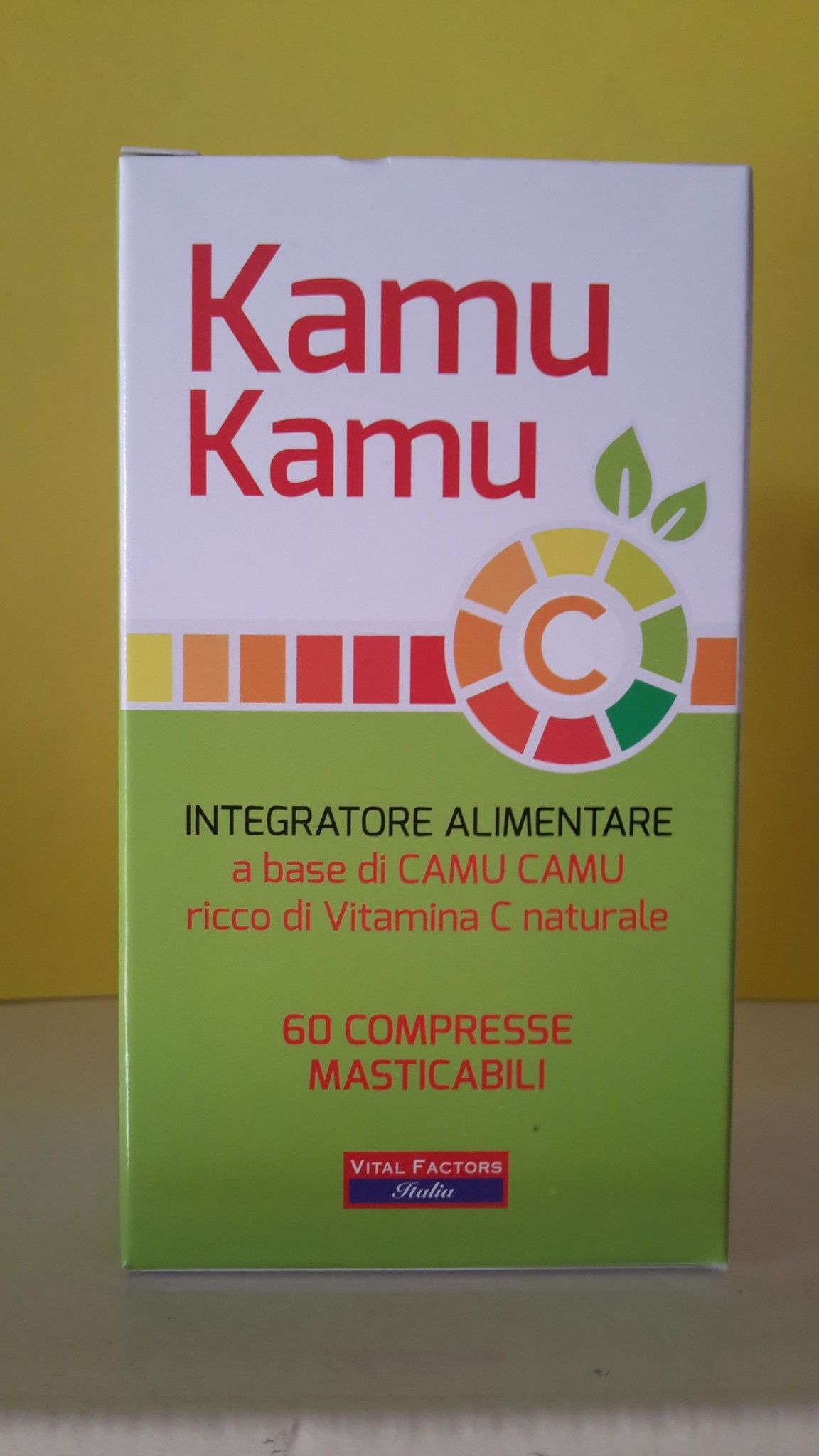 Kamu Kamu  Vitamina C -  60  cpr  Masticabili - VITAL FACTORS