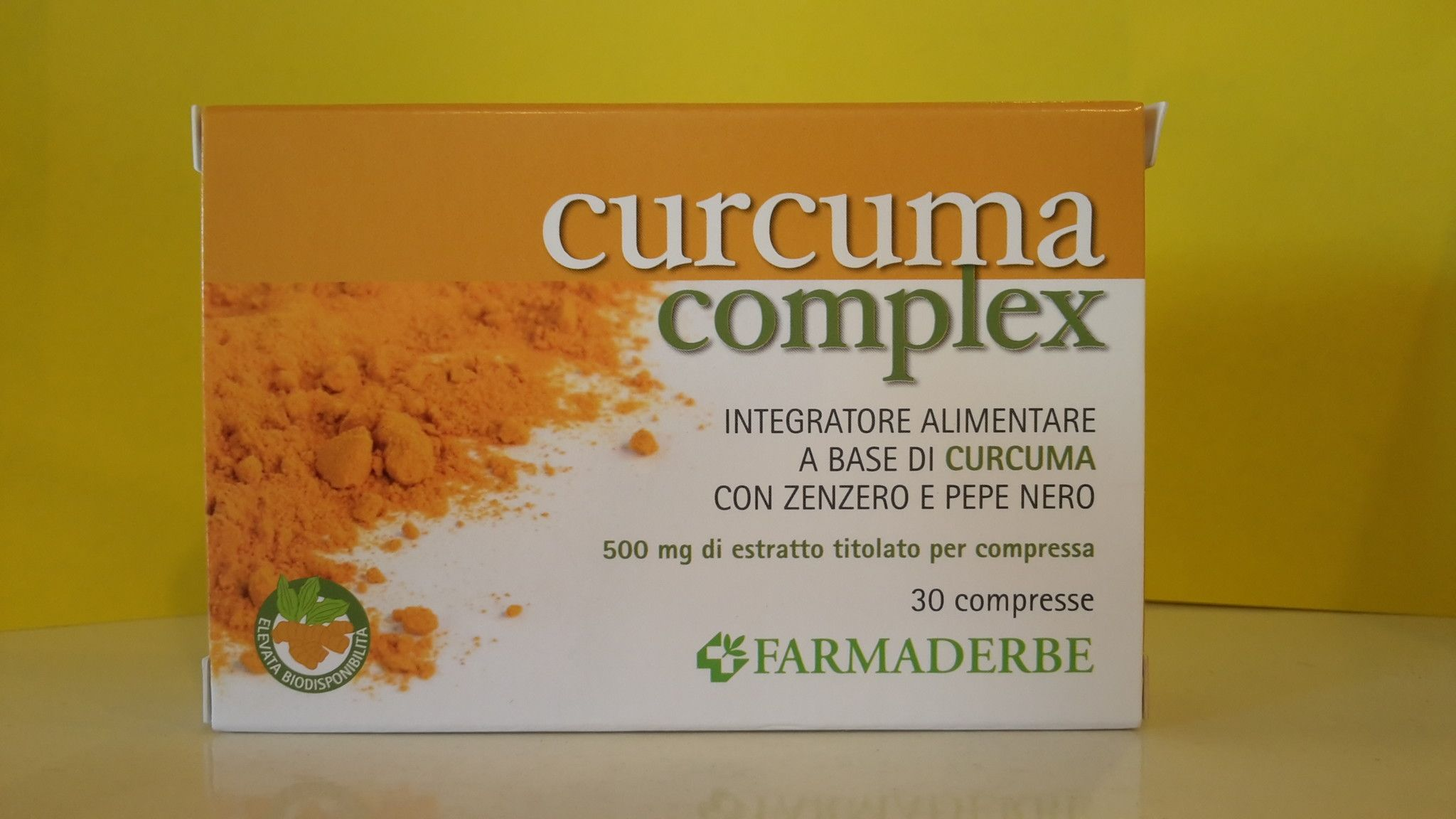CURCUMA complex 30  cps -  FARMADERBE