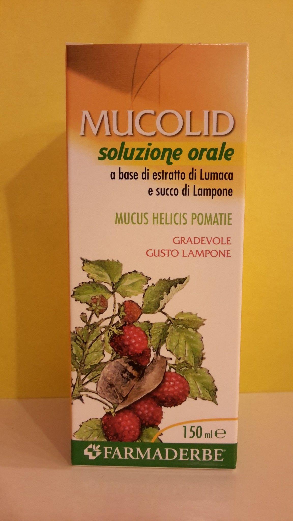 MUCOLID  balsamico  Sciroppo di LUMACA  150 ml - FARMADERBE