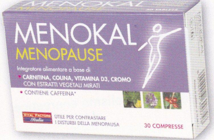 MENOKAL  MENOPAUSA  30 cps VITAL FACTORS