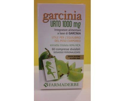 GARCINIA  URTO  1000  mg -  60  cpr  FARMADERBE