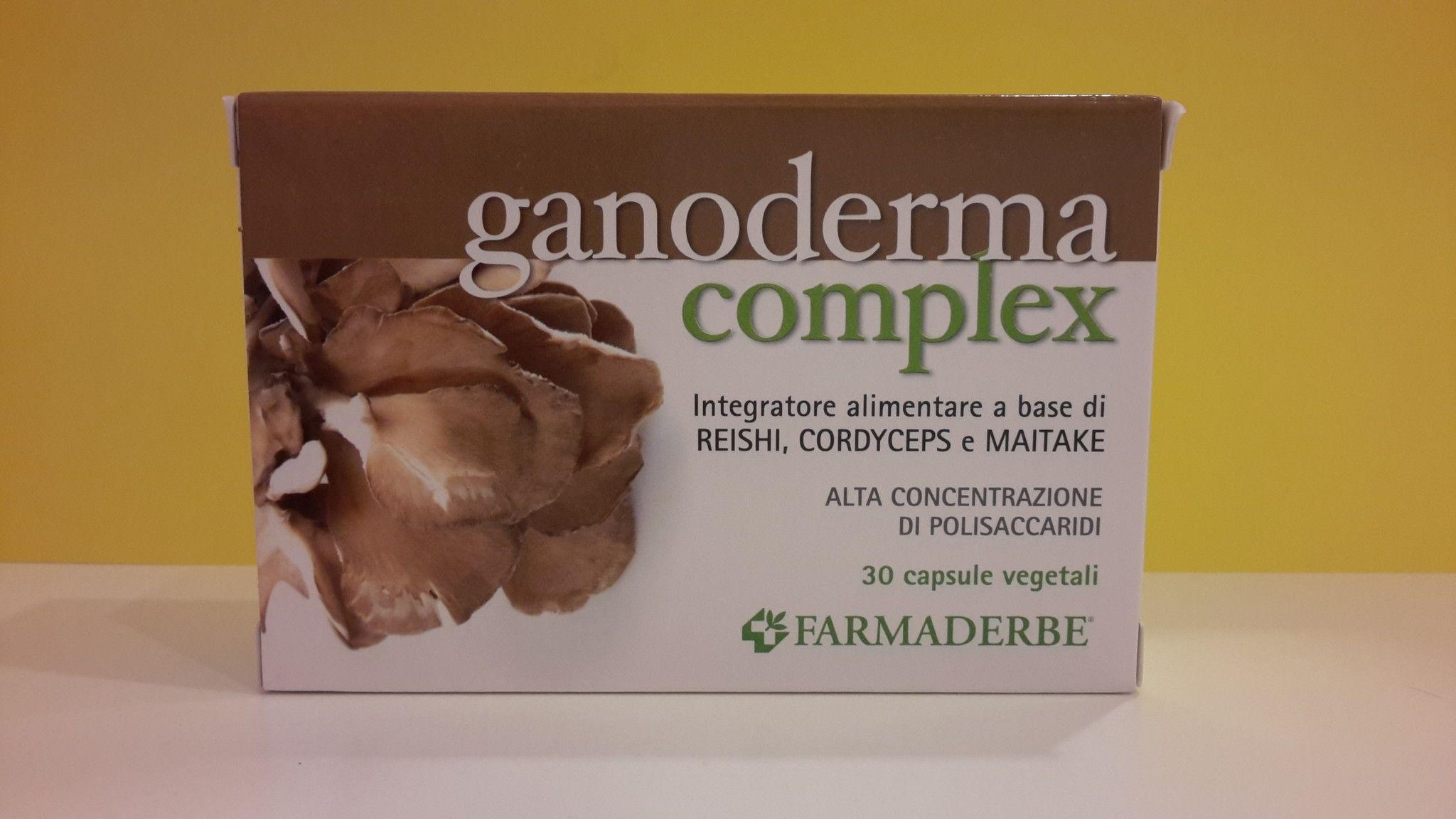 GANODERMA complex 30 cps - FARMADERBE