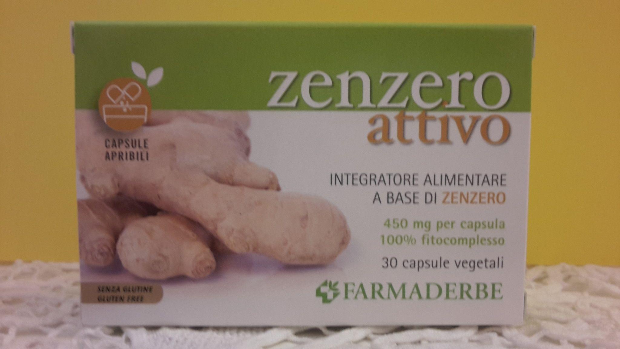 ZENZERO  attivo 30 cps - FARMADERBE