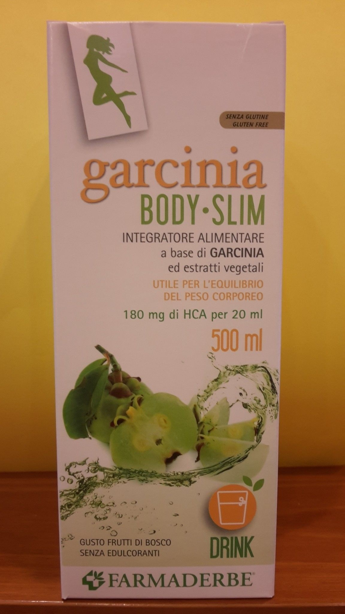 Garcinia BODY- SLIM - 500 ml - FARMADERBE
