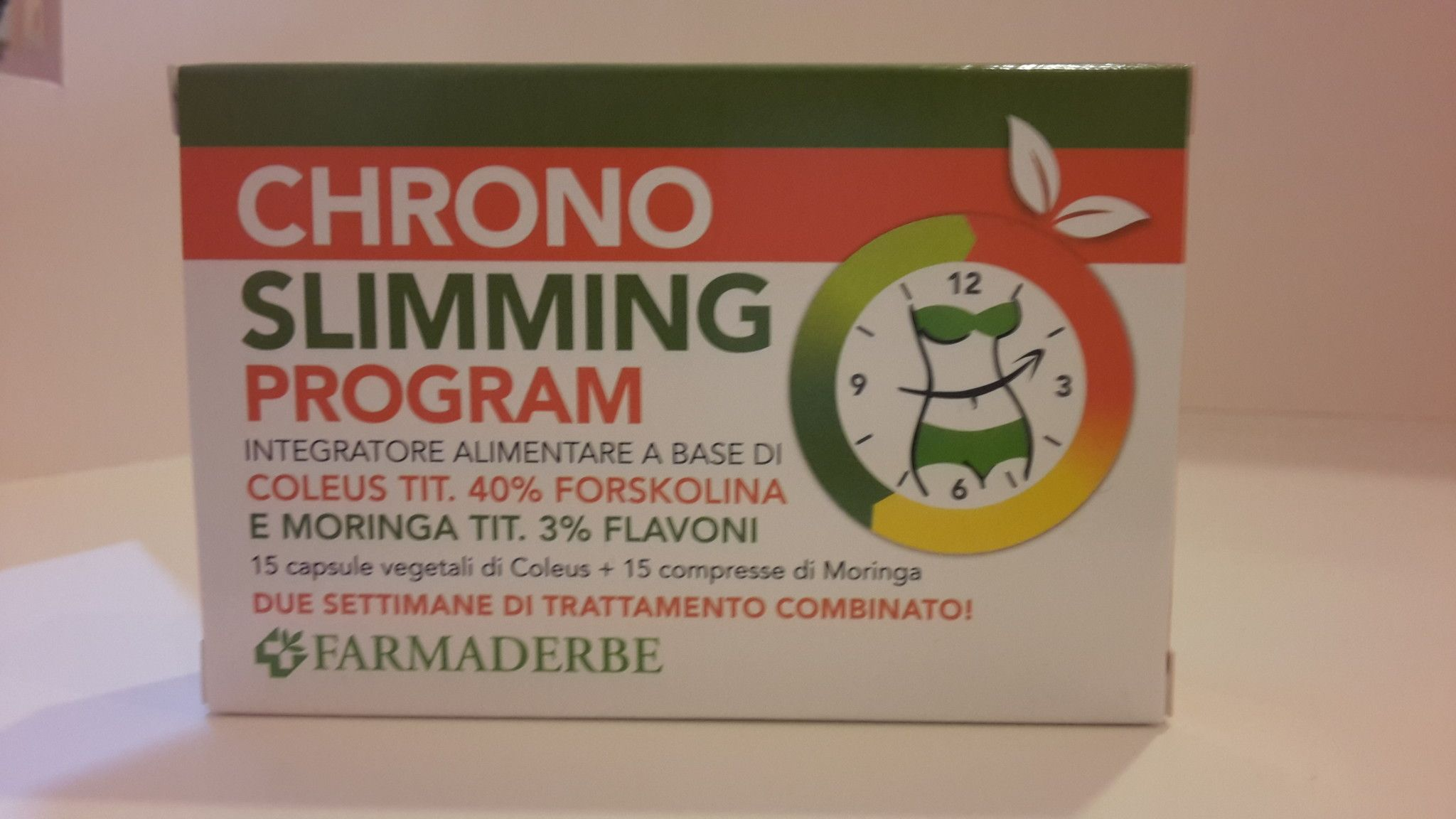 CHRONO SLIMMING PROGRAM - Farmaderbe -  30 CPS