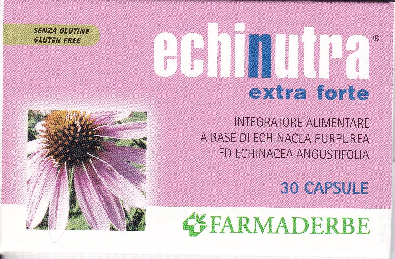 FARMADERBE ECHINUTRA extra forte 30 cps Antiossidante