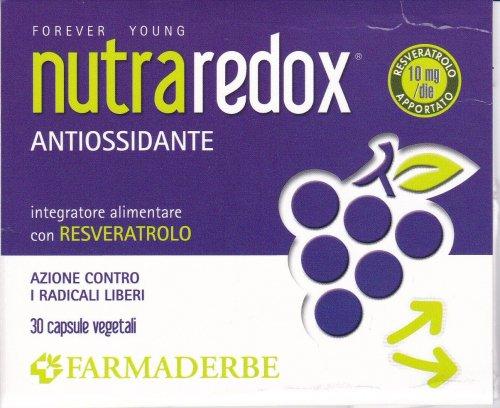 FARMADERBE NUTRA REDOX  30 CPS  Multivitaminico