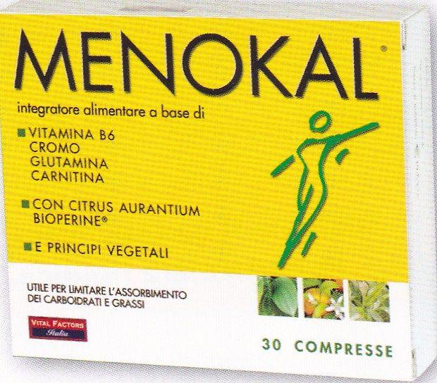 MENOKAL  30 cps Brucia Grassi  VITAL FACTORS